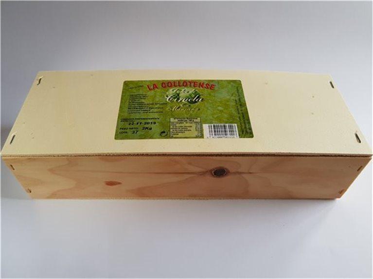 Dulce de ciruela con manzana estuche madera 2 Kg