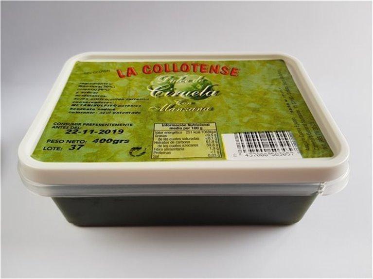 Dulce de ciruela con manzana tarrina 400 g