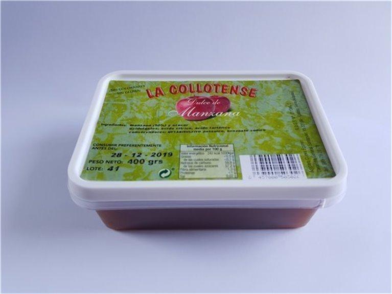 Dulce manzana tarrina 400 g