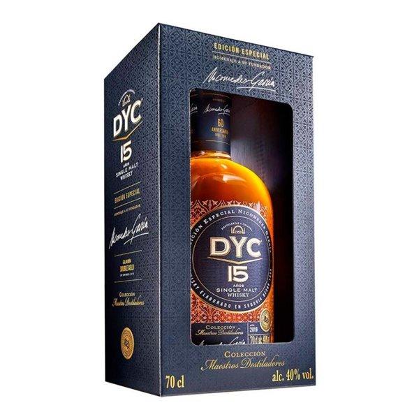 DYC SINGLE MALT 15 0,70 L. 40º