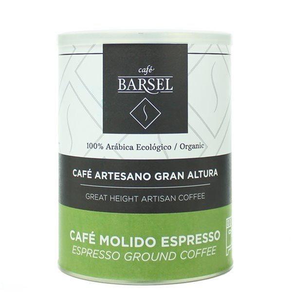 Ecológico 100% Arábica - Café artesano MOLIDO Espresso - 250gr