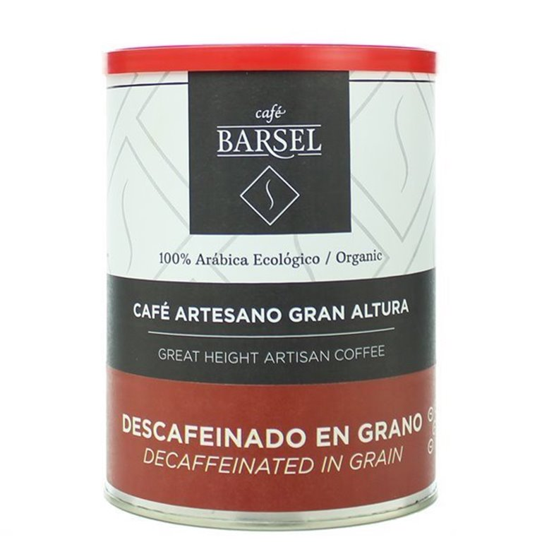 Ecológico 100% Arábica DESCAFEINADO - Café artesano en GRANO