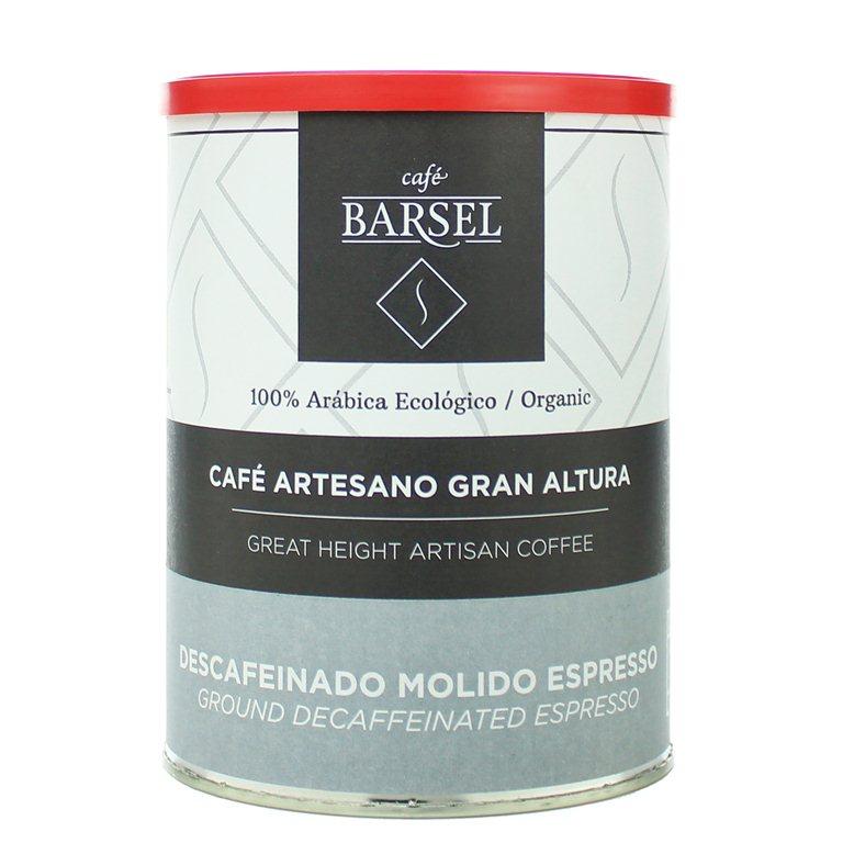 Ecológico 100% Arábica DESCAFEINADO - Café artesano MOLIDO Espresso
