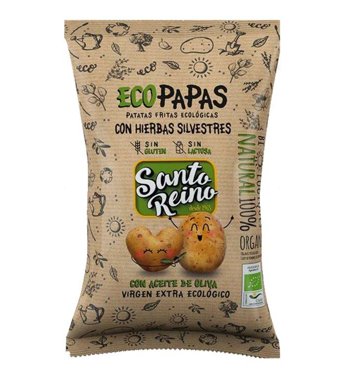 ORGANIC Potato Chips with wild Herbs 90g