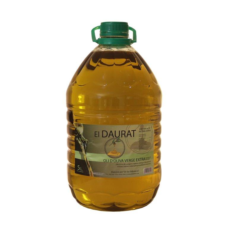 El Daurat - Extra Virgin Olive Oil 5L (Box of 2 Carafes)