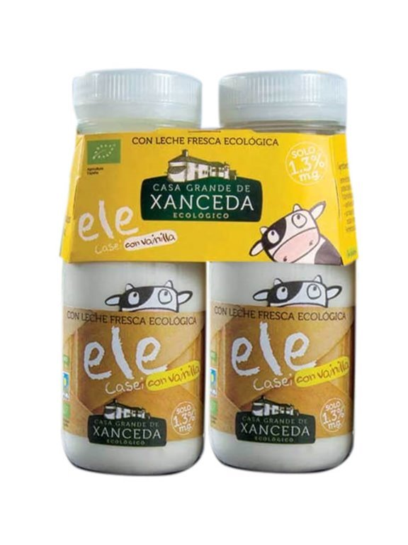 Ele Casei Ecológico (Yogur Para Beber) Vainilla, 330 gr