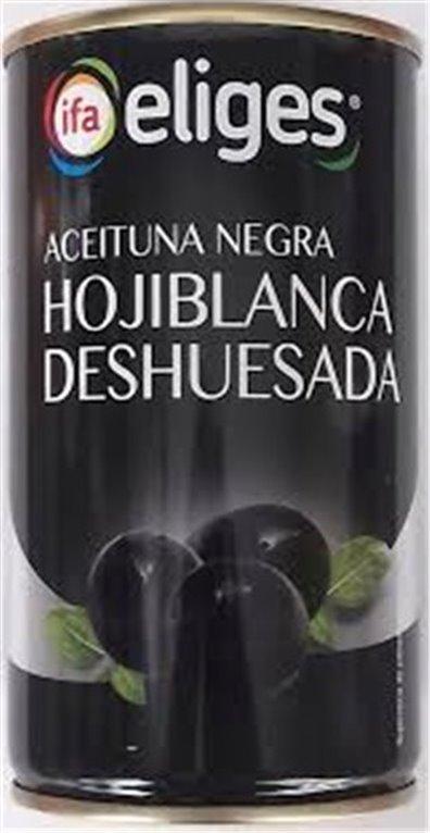 Eliges - Aceituna negra hojiblanca deshuesada