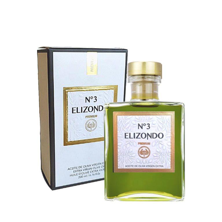 Elizondo - Premium - Picual - Nº3 - 12 Estuches Botella 200 ml
