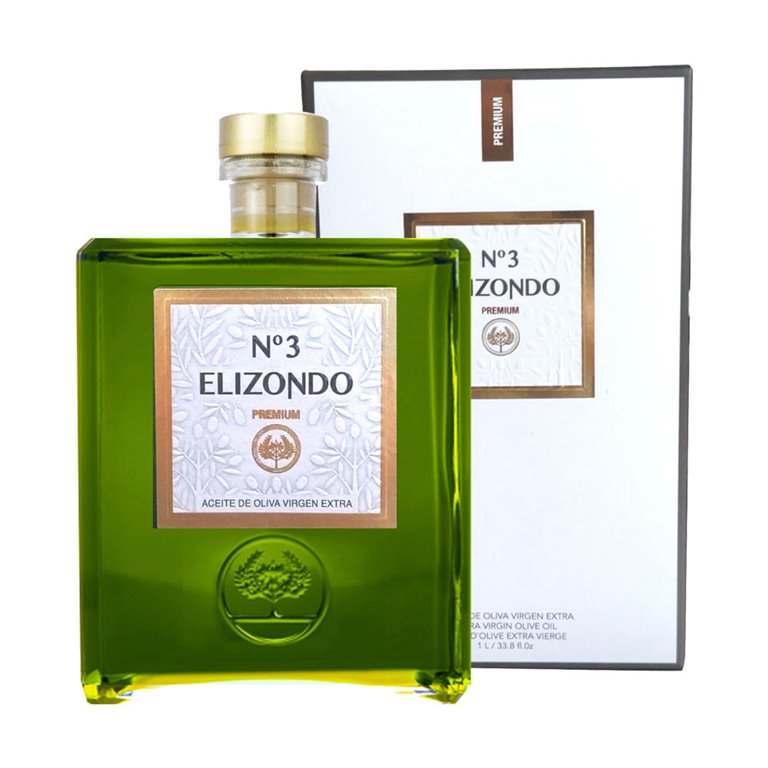 Elizondo - Premium - Picual - Nº3 - 6 Estuches Botella 1L