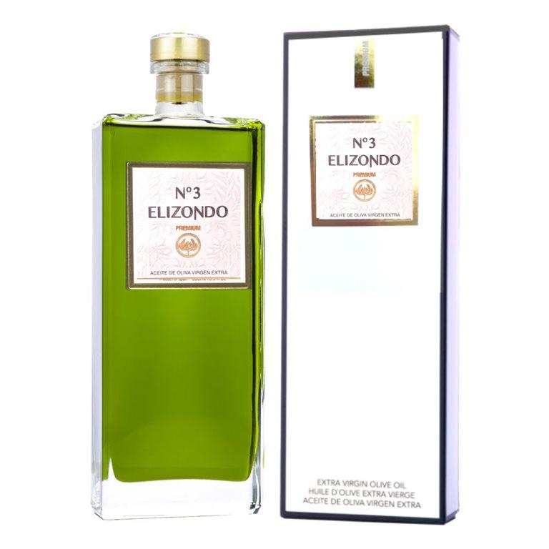 Elizondo - Premium - Picual - Nº3 - Estuche Botella 500 ml