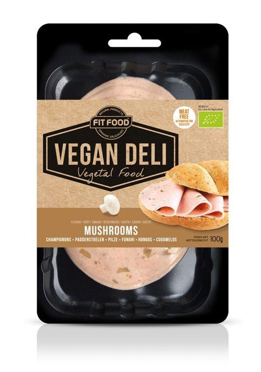 Embutido Champiñones Vegan Deli, 1 ud