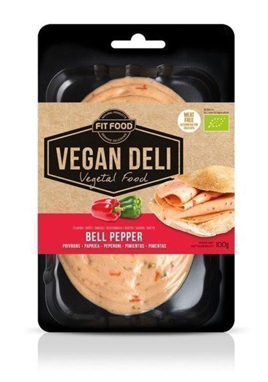 Embutido Pimientos Vegan Deli, 1 ud