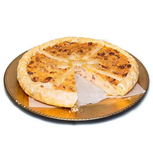 Empanada de bacon y queso