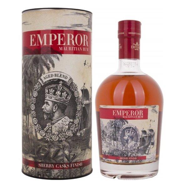 EMPEROR MAURITIAN SHERRY CASK 0,70 L. + ESTUCHE