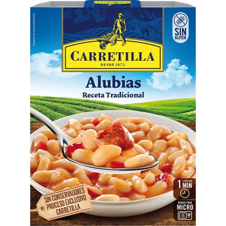 Carretilla - Alubias receta tradicional