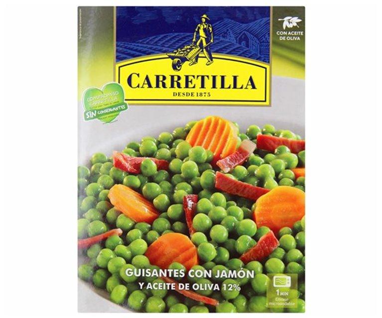 Carretilla - Guisantes con jamón