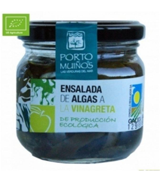 Ensalada de algas a la vinagreta (cristal) C212. Porto-Muiños. 12un.