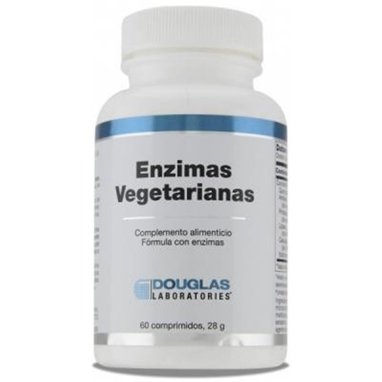 Enzimas Vegetarianas 120 comprimidos, 1 ud