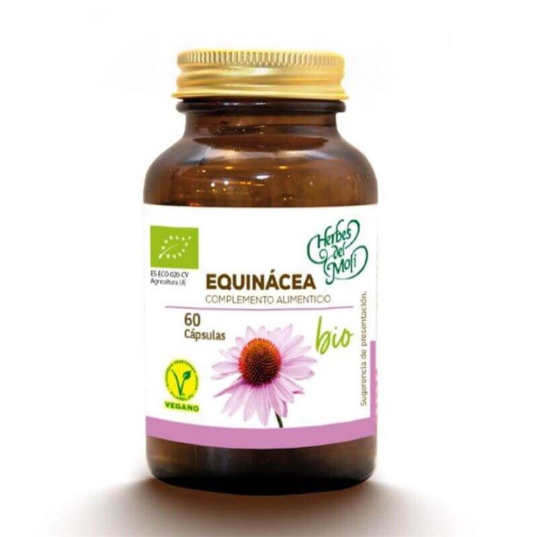 Equinacea BIO - 60 cápsulas - Herbes del moli