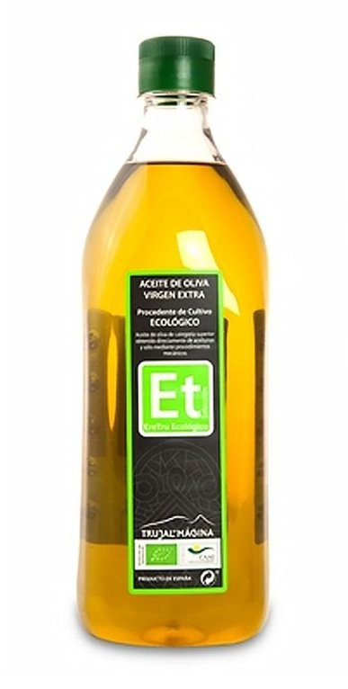 Eretru. Aceite de oliva Ecológico. 12 Botellas de 1 Litro, 1 ud