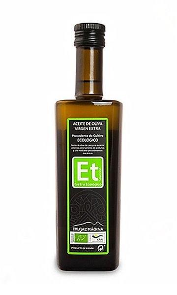 Eretru. Aceite de Oliva Ecológico. 12 Botellas de 500 ml