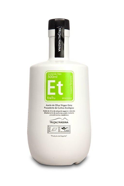 Eretru. Aceite de oliva Ecológico. 6 botellas de 500ml, 1 ud
