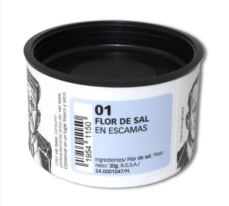 Organic Salt Flakes 30 g.