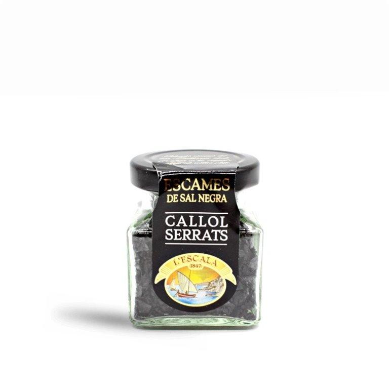 Escamas de Sal Negra Callol Serrats 65 gr.