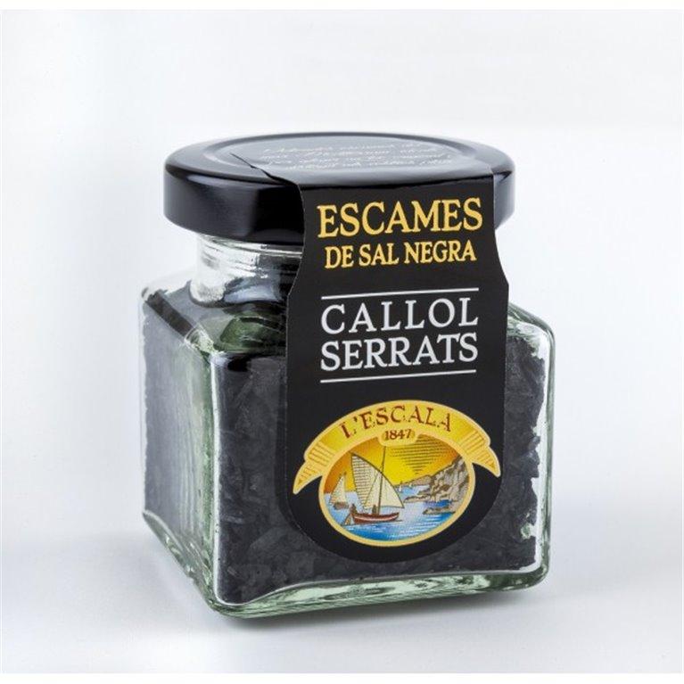 Escamas de Sal Negra Callol Serrats 65 gr., 1 ud