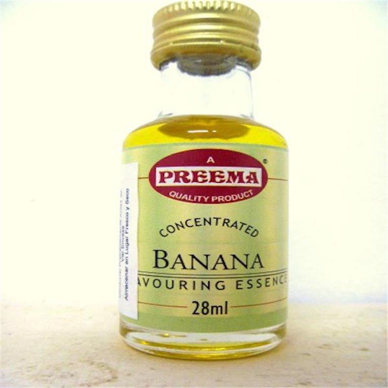 Esencia de plátano 28ml, 1 ud