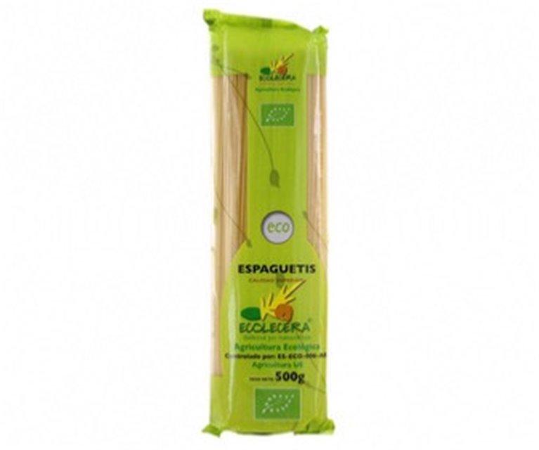 Espagueti ecológico Ecolecera, 1 ud