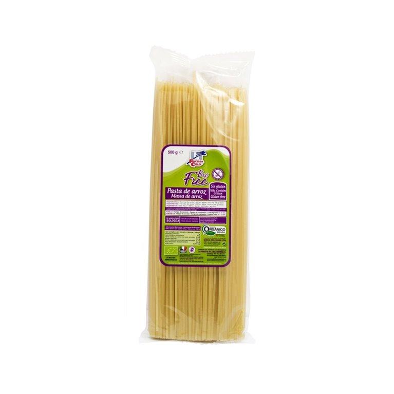 Espaguetis de arroz sin gluten bio La Finestra sul Cielo