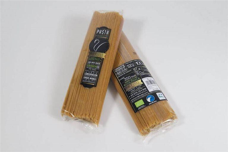 Espaguetis integrales BIO - 500g - Riet Vell