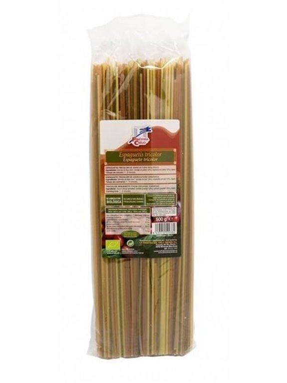 Espaguetis Tricolor, 500 gr