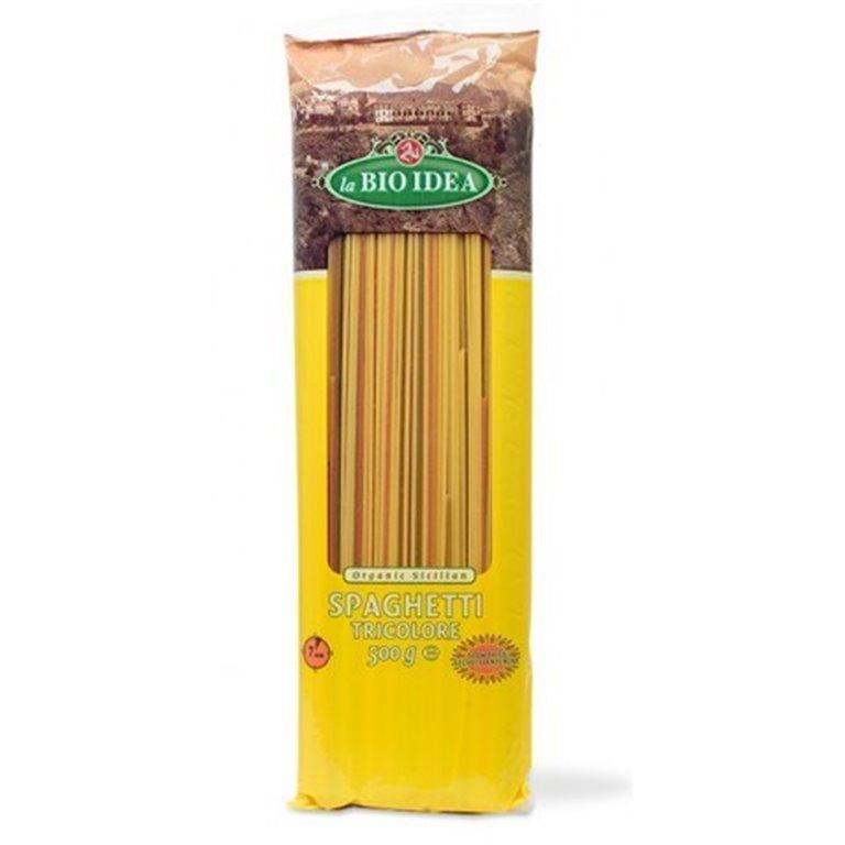 Espaguetis trigo verduras, 500 gr