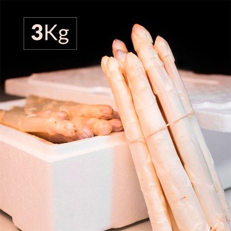 Espárrago blanco fresco 3 Kg