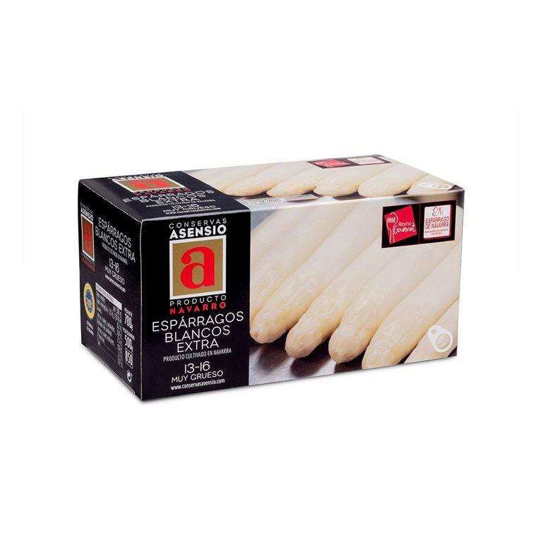 Espárragos Blancos 13/16 Extra 1 kg (790 g) Muy Gruesos