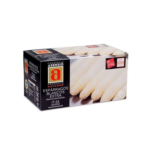 Espárragos Blancos 17/24 Extra 1 kg (790 g)  Gruesos