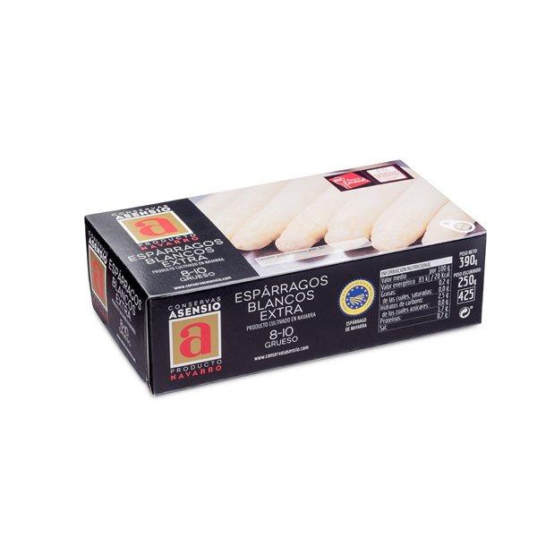 Espárragos Blancos  8/10 Extra 1/2 kg (390 g) Gruesos