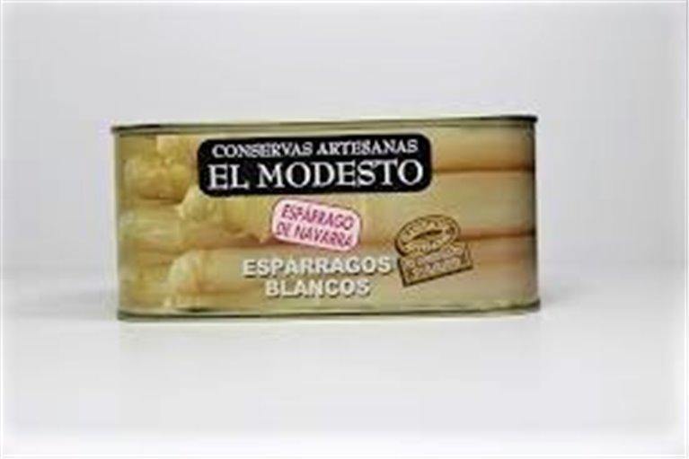 Espárragos Blancos El Modesto 6/8 660g.
