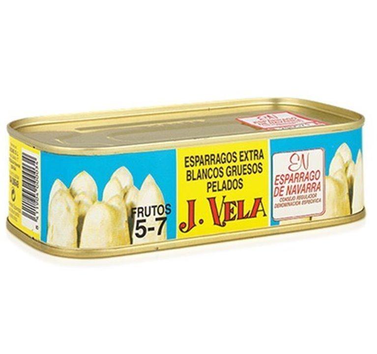 Espárragos Blancos Extra 5-7 Fr. 1/2 Kg.