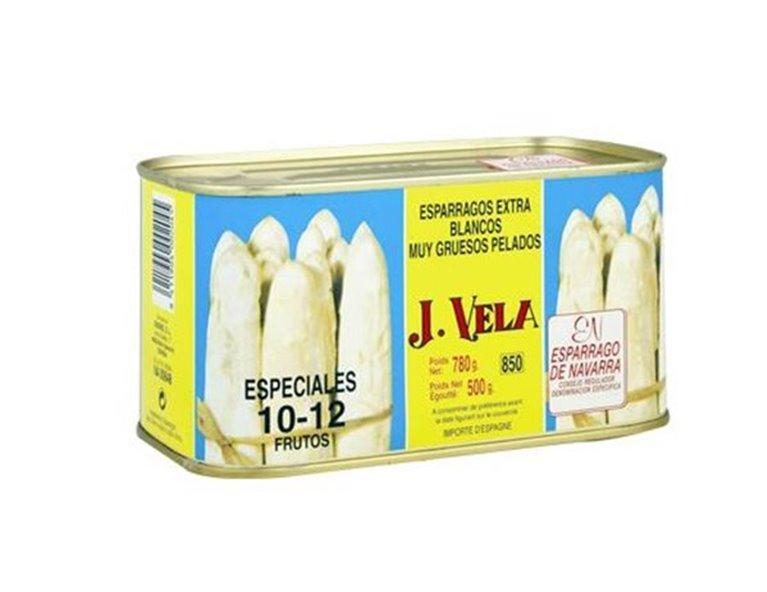 Esparragos blancos extra muy gruesos 10-12 - J. Vela