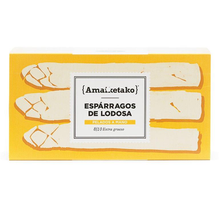 Espárragos de Lodosa 8/10 Extra Gruesos 780gr.