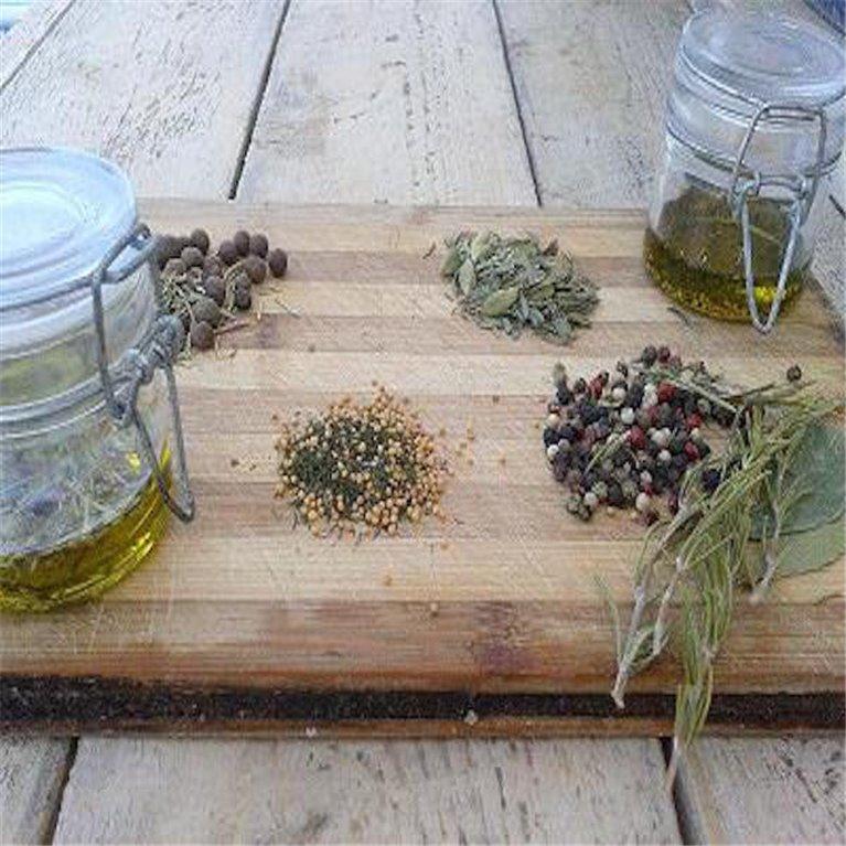 Especias para aliñar aceites