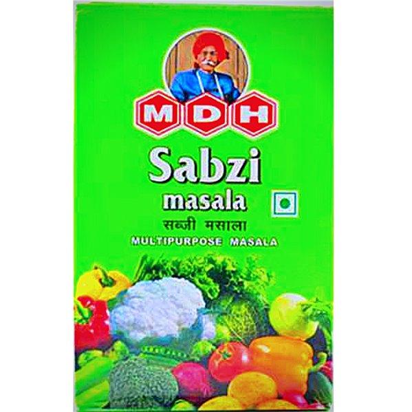 Especias para Verduras   Sabji Masala MDH 100g