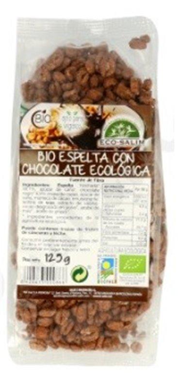 Espelta y Amaranto Hinchados con Crema de Avellanas Bio 125g, 1 ud