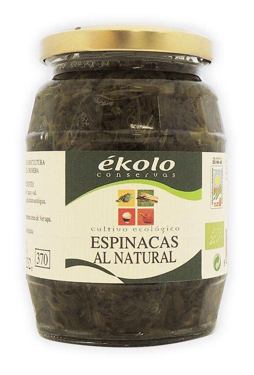 Espinaca Ecológica, 370 gr