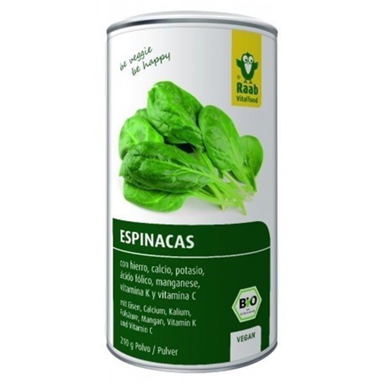 Espinaca Polvo Vegan, 1 ud
