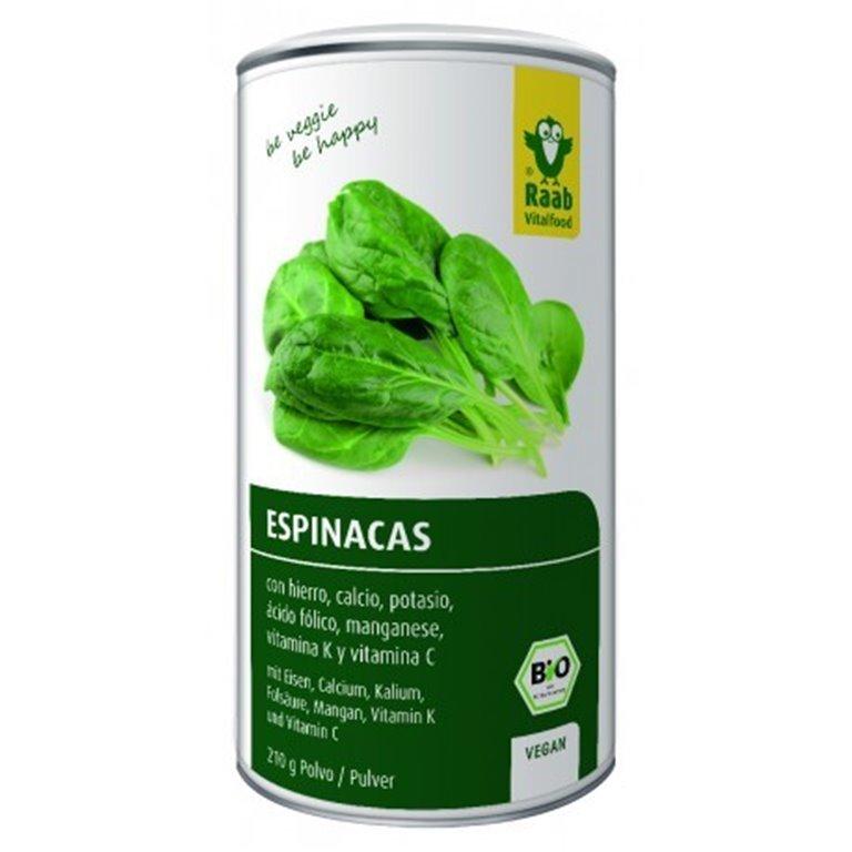 Espinaca Polvo Vegan