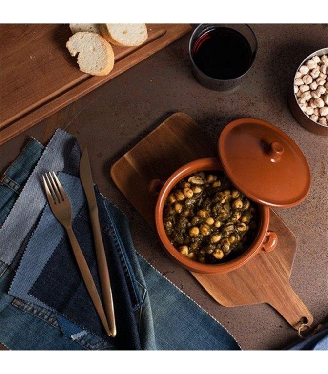 Espinacas con garbanzos - 400 g., 1 ud